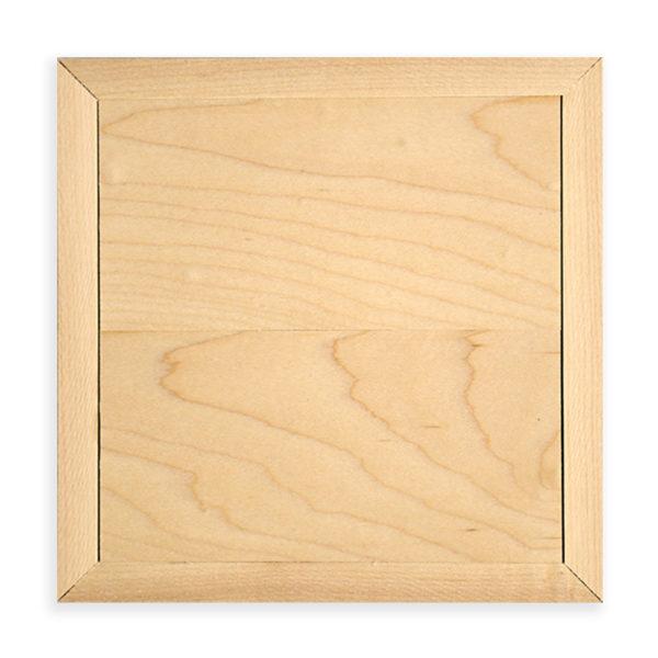 6x6 blank photo printed on wood, gallery wall