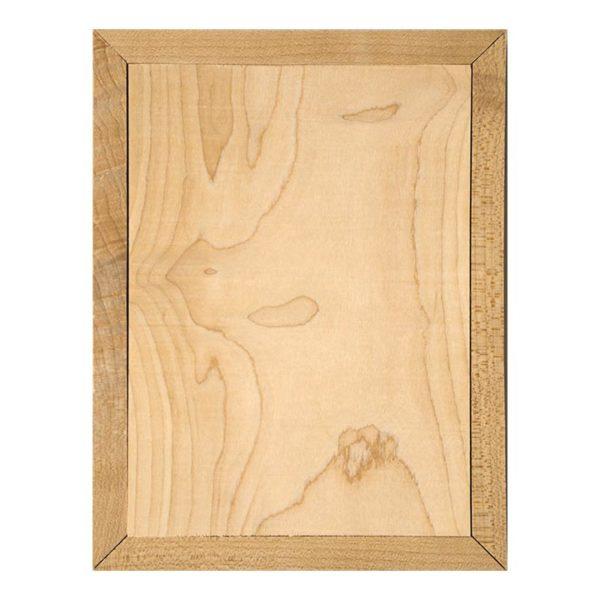5x7 Blank photo on wood