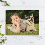 7×5 Photo Wood Print