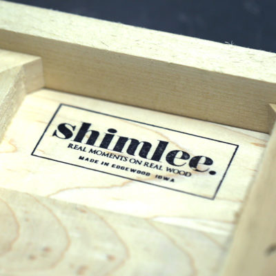 Stamped Back of Shimlee