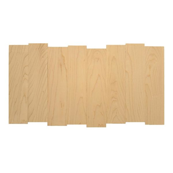 Square-SH2412S24x12 blank staggered wood photo print