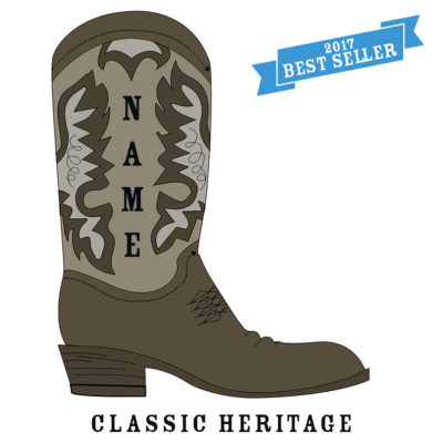 Custom Rodeo Boot Classic Heritage Rodeo Boot - SHBOOT-2