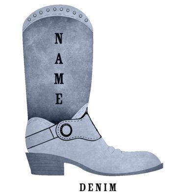 Custom Rodeo Boot Denim Rodeo Boot - SHBOOT-3