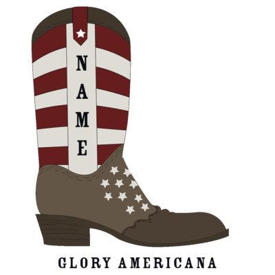 Custom Rodeo Boot Glory Americana Rodeo Boot - SHBOOT-4