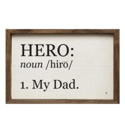 My Dad 16x10 Wood Sign