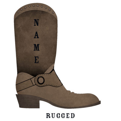 Custom Rodeo Boot Rugged Rodeo Boot - SHBOOT-6