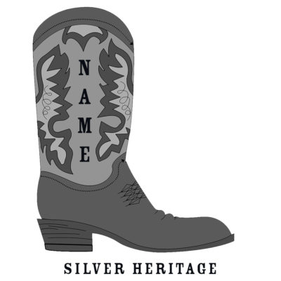 Custom Rodeo Boot Silver Heritage Rodeo Boot - SHBOOT-7