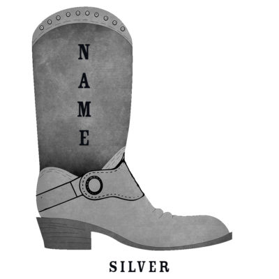 Custom Rodeo Boot Silver Rodeo Boot - SHBOOT-8