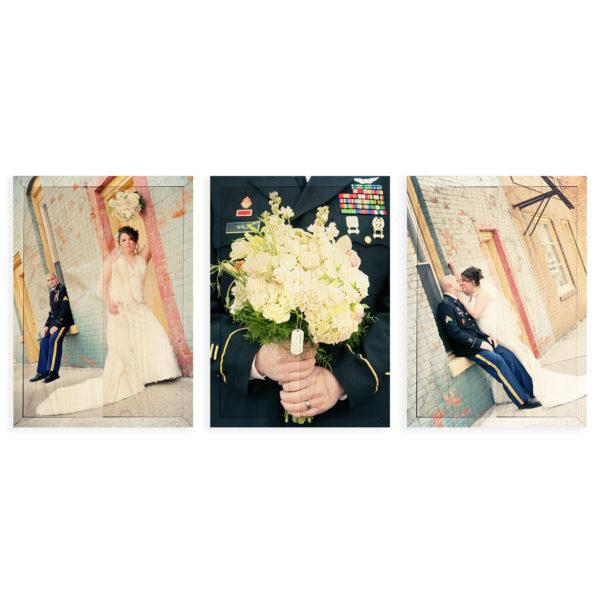 10x14 Photo Wood Print Bundle - wedding sample