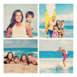 12x12 Photo Wood Print Bundle - Square Layout