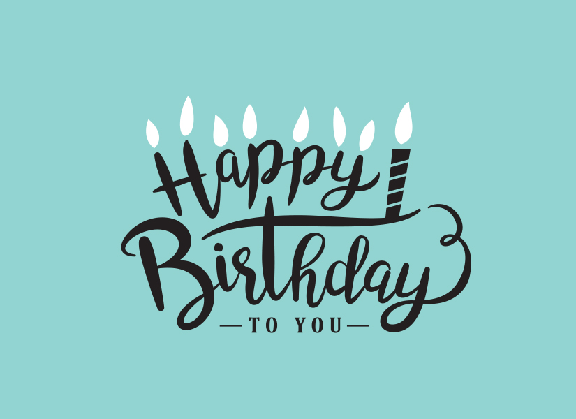 Gift Card Happy Birthday to You